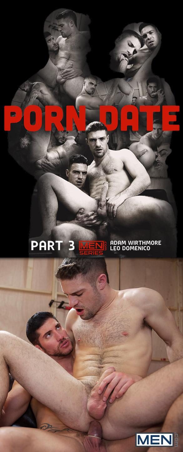 "Men.com: Leo Domenico fucks Adam Wirthmore in ""Porn Date, Part 3″"