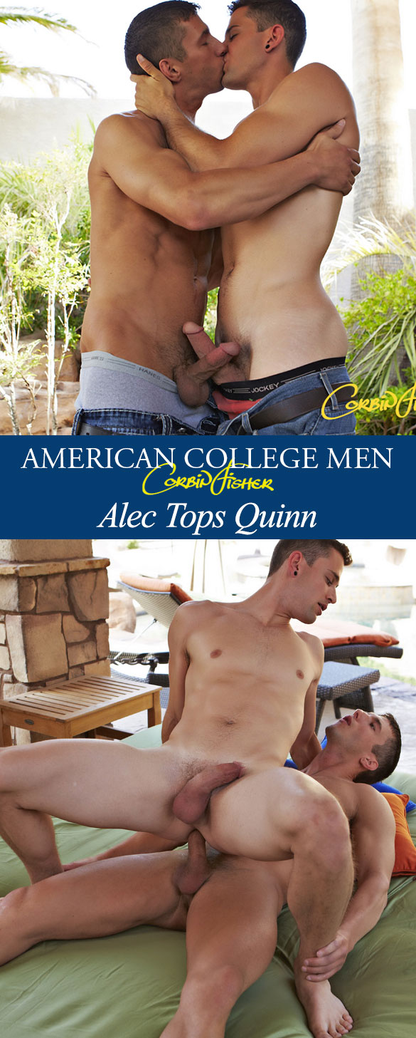 Corbin Fisher: Alec fucks Quinn raw