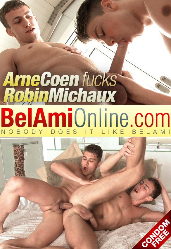BelAmi: Arne Coen fucks Robin Michaux raw