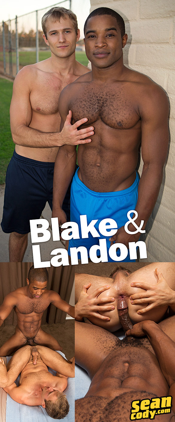 Sean Cody: Landon pounds Blake bareback