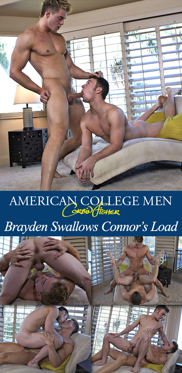 Corbin Fisher: Connor bangs Brayden raw