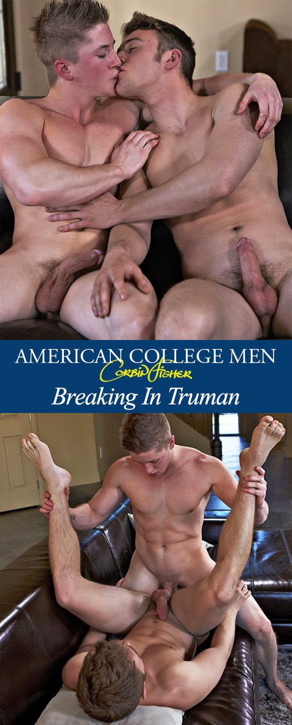 Corbin Fisher: Truman fucks a guy for the first time