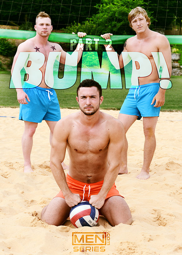 "Men.com: Owen Michaels and Tom Faulk tag team Colt Rivers in ""Bump!, Part 2"""