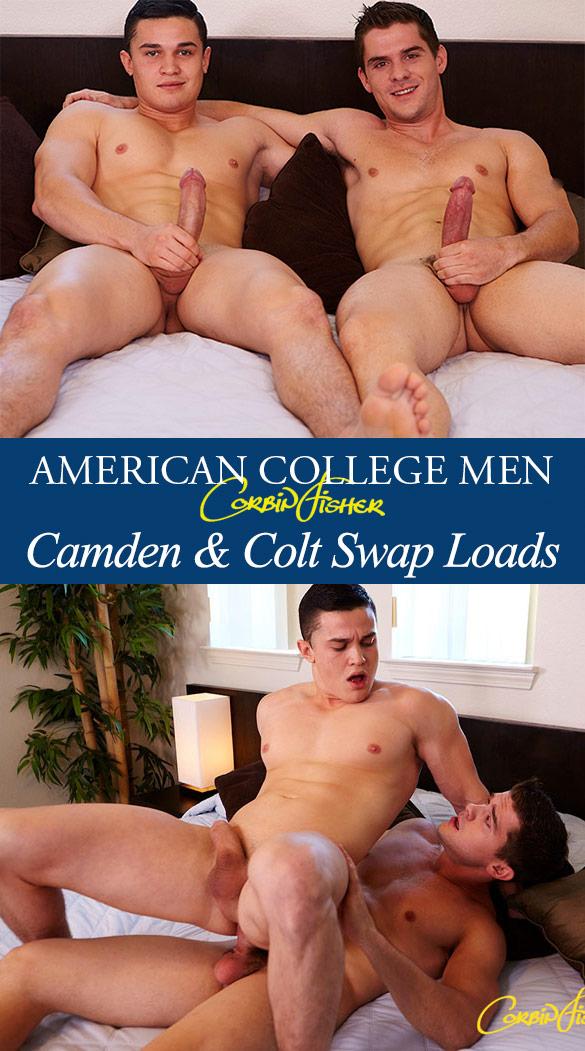 Corbin Fisher: Camden barebacks Colt