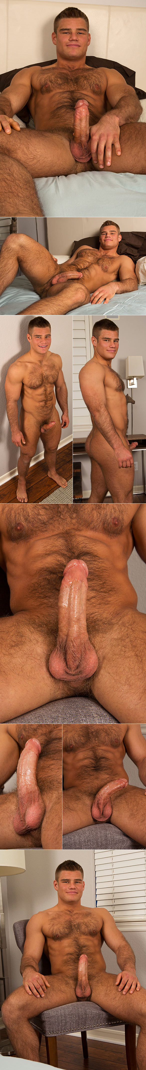 Sean Cody: Hairy muscle stud Charles