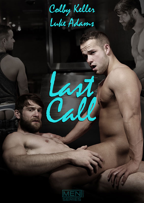 "Men.com: Colby Keller pounds Luke Adams in ""Last Call, Part 1"""