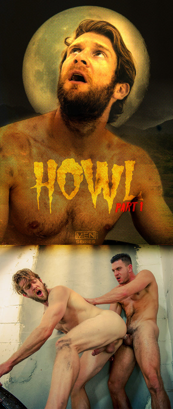 """Men.com: Paddy O'Brian pounds Colby Keller in """"Howl, Part 1"""""""