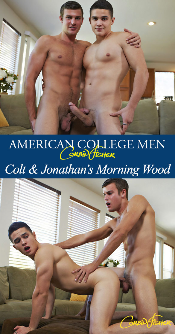 Corbin Fisher: Jonathan bangs Colt raw
