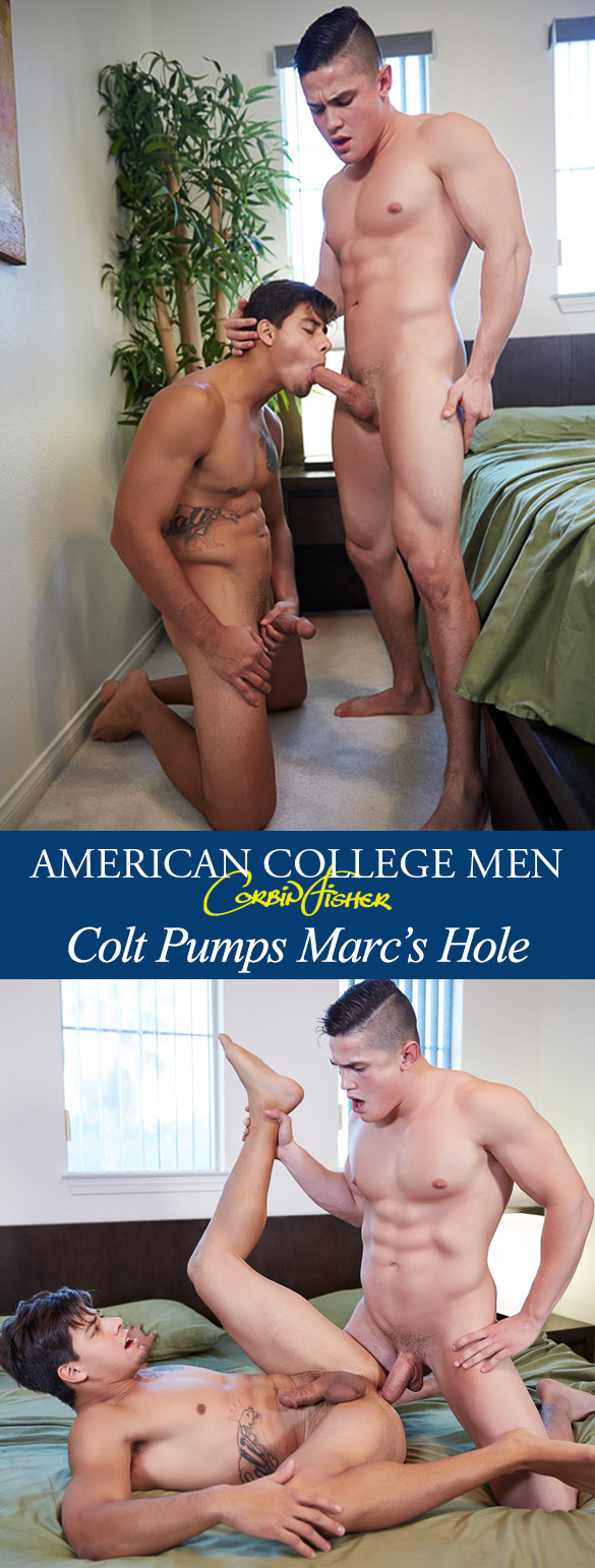 Corbin Fisher: Colt bangs Marc raw