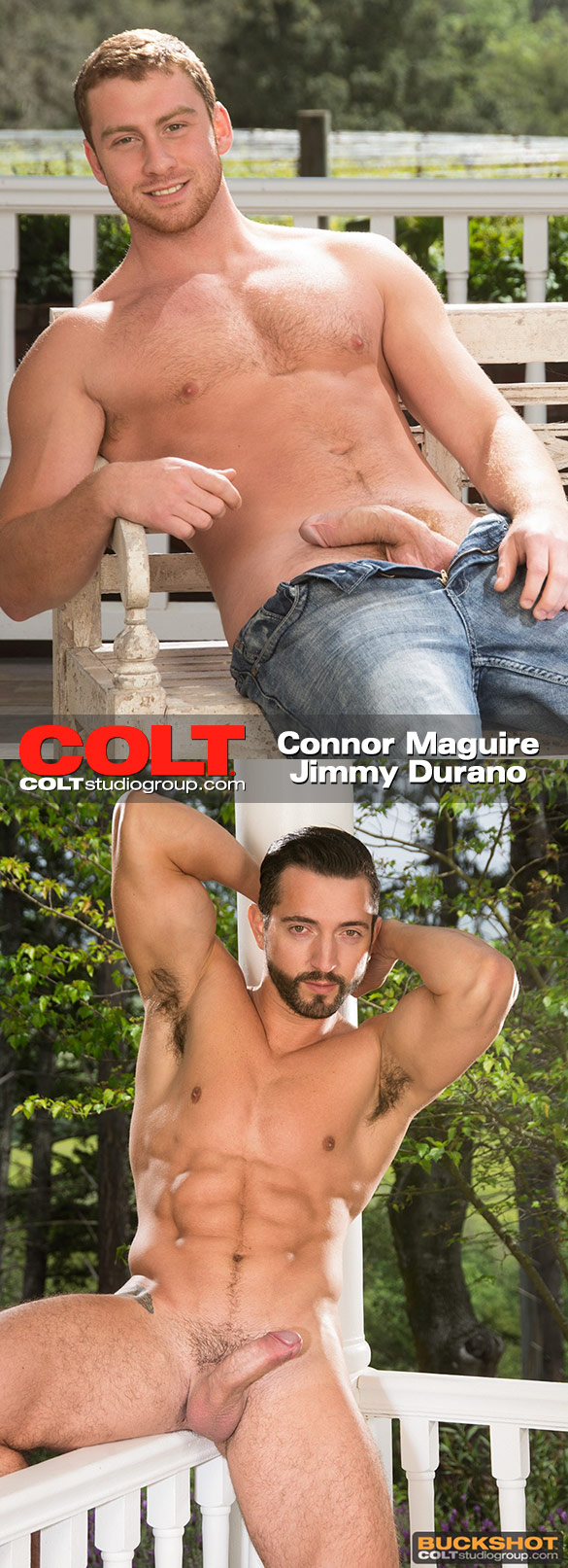 "COLTStudioGroup: Connor Maguire and Jimmy Durano suck each other off in ""Embrace"""