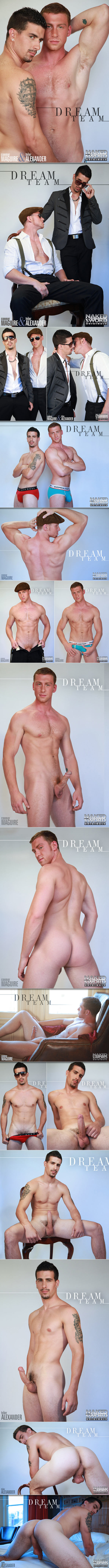 "Naked Sword Originals: Connor Maguire bangs Tyler Alexander in ""Dream Team: Ep. 4"""