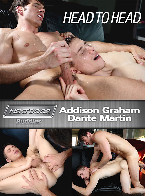 "NextDoorBuddies: Dante Martin gets fucked by Addison Graham in ""Head To Head"""