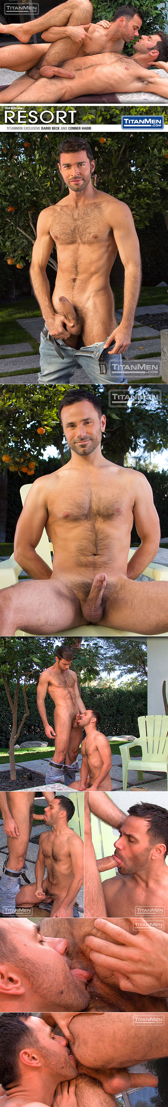 "Titan Men: Dario Beck gets fucked by Conner Habib in ""Resort"""