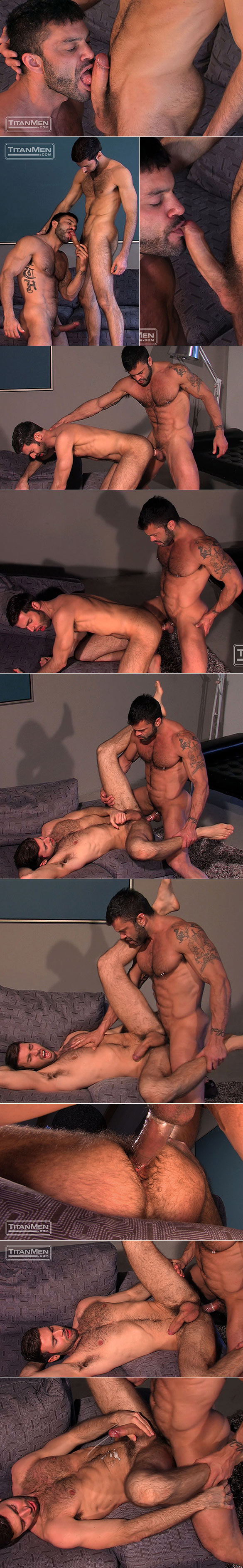 "Titan Men: Rogan Richards bangs Dario Beck in ""Scruf"""