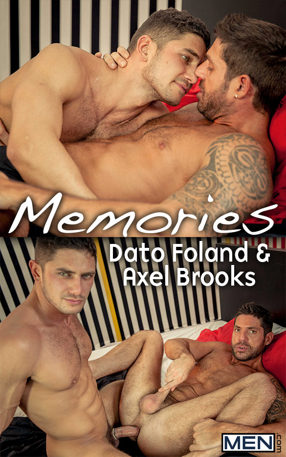 "Men.com: Dato Foland and Axel Brooks flip fuck in ""Memories"""