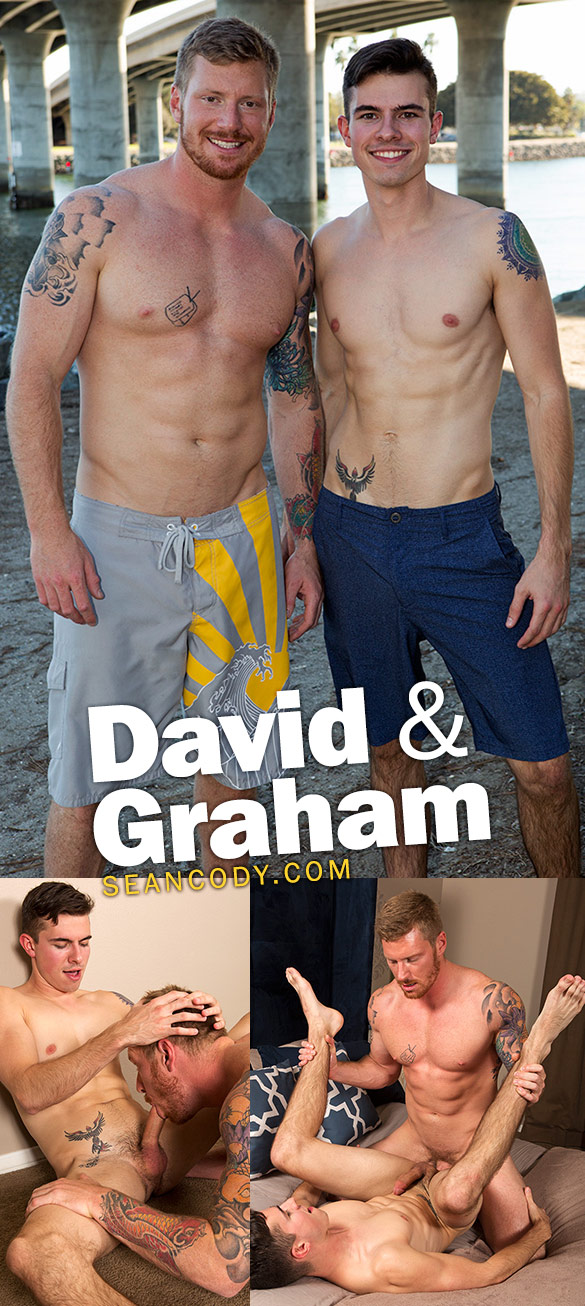 Sean Cody: David creampies Graham