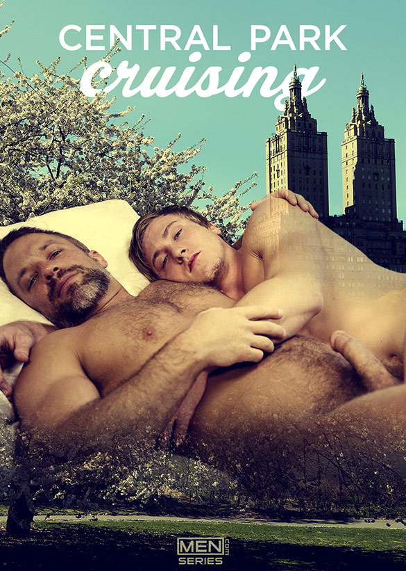 "Men.com: Dirk Caber and Tom Faulk flip fuck in ""Central Park Cruising, Part 3"""