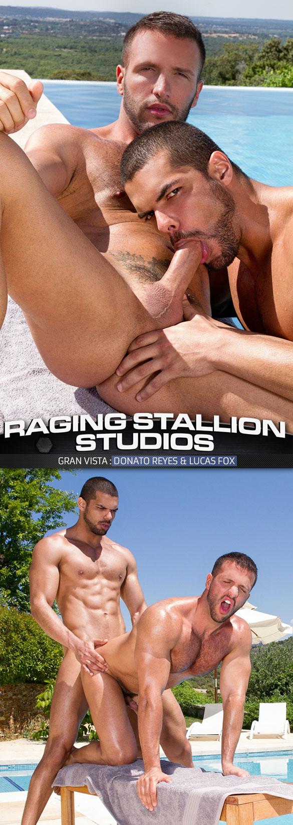 """Raging Stallion: Lucas Fox bangs Donato Reyes in """"Gran Vista"""""""