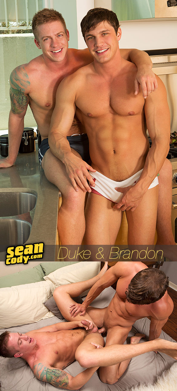 Sean Cody: Brandon barebacks Duke