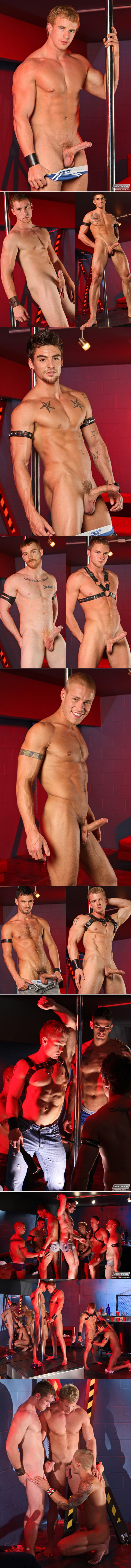 "NextDoorBuddies' ""The Dungeon Club"" orgy"