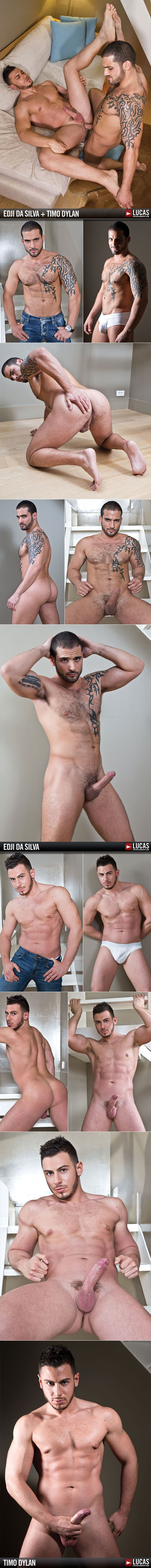 Lucas Entertainment: Edji Da Silva has bareback sex with his husband Timo Dylan