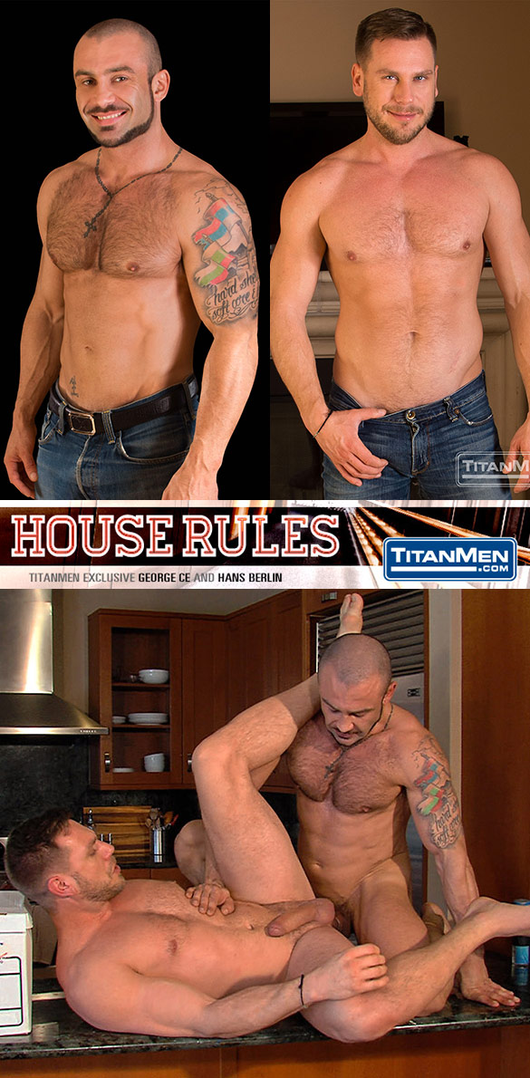 "TitanMen: George Ce bangs Hans Berlin in ""House Rules"""