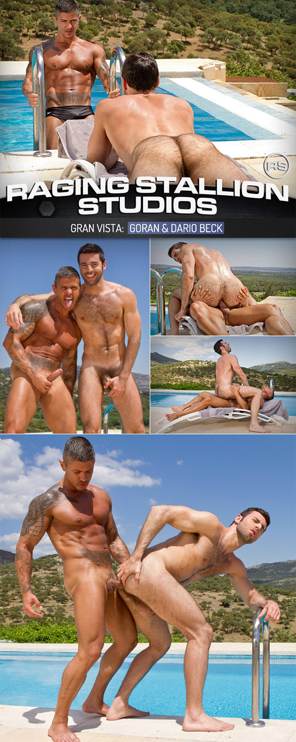 "Raging Stallion: Goran fucks Dario Beck in ""Gran Vista"""