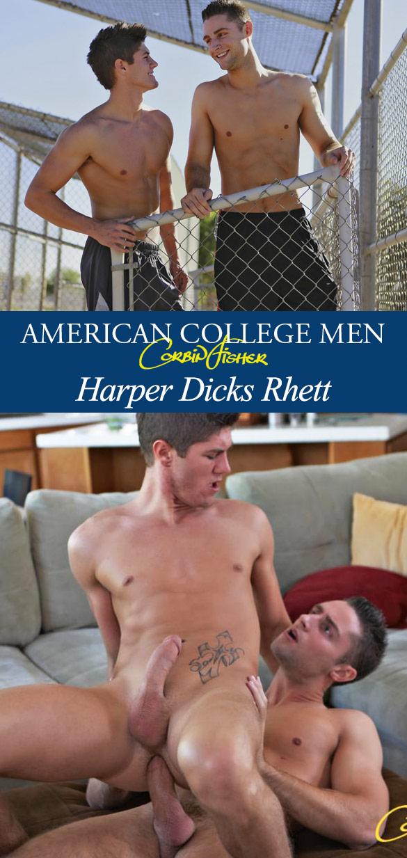 Corbin Fisher: Harper pounds Rhett bareback