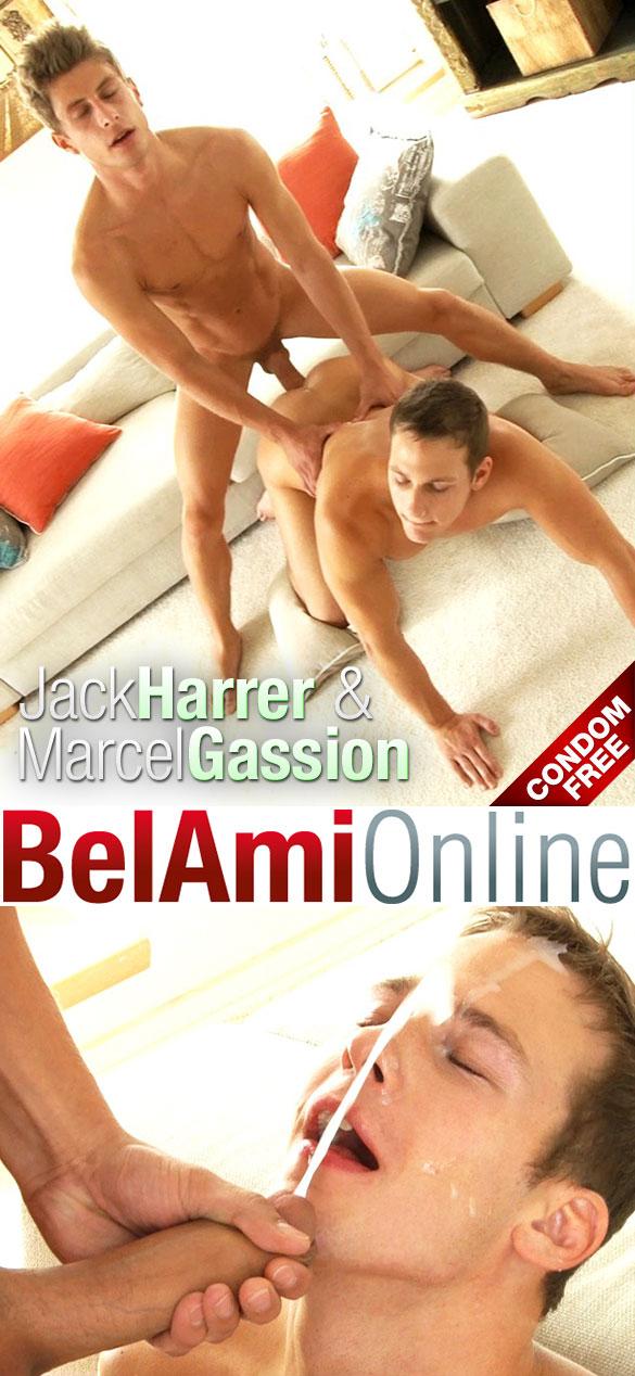 BelAmi: Jack Harrer barebacks Marcel Gassion