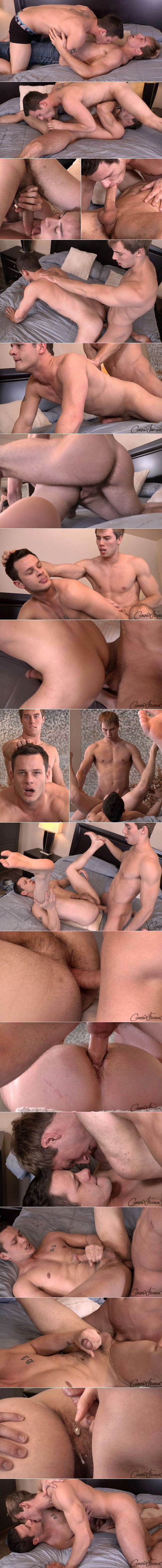 Corbin Fisher: Jacob bangs Scott raw