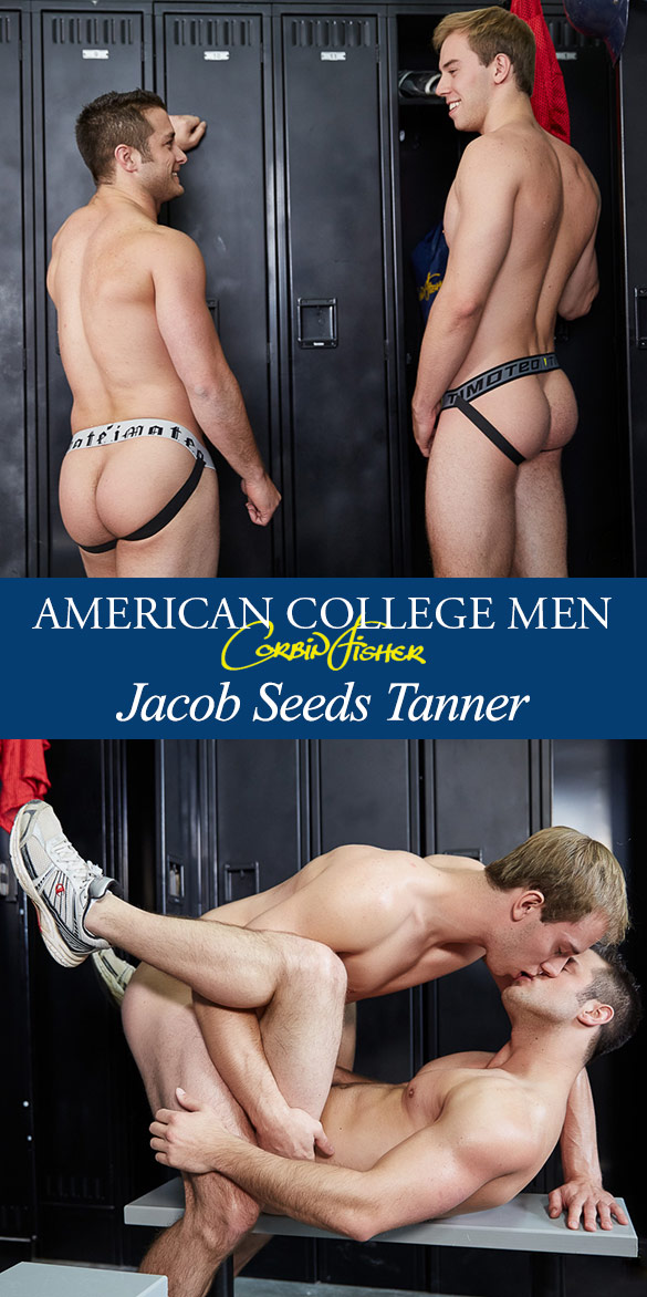 Corbin Fisher: Jacob barebacks Tanner