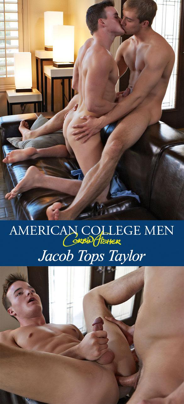 Corbin Fisher: Jacob bangs Taylor raw