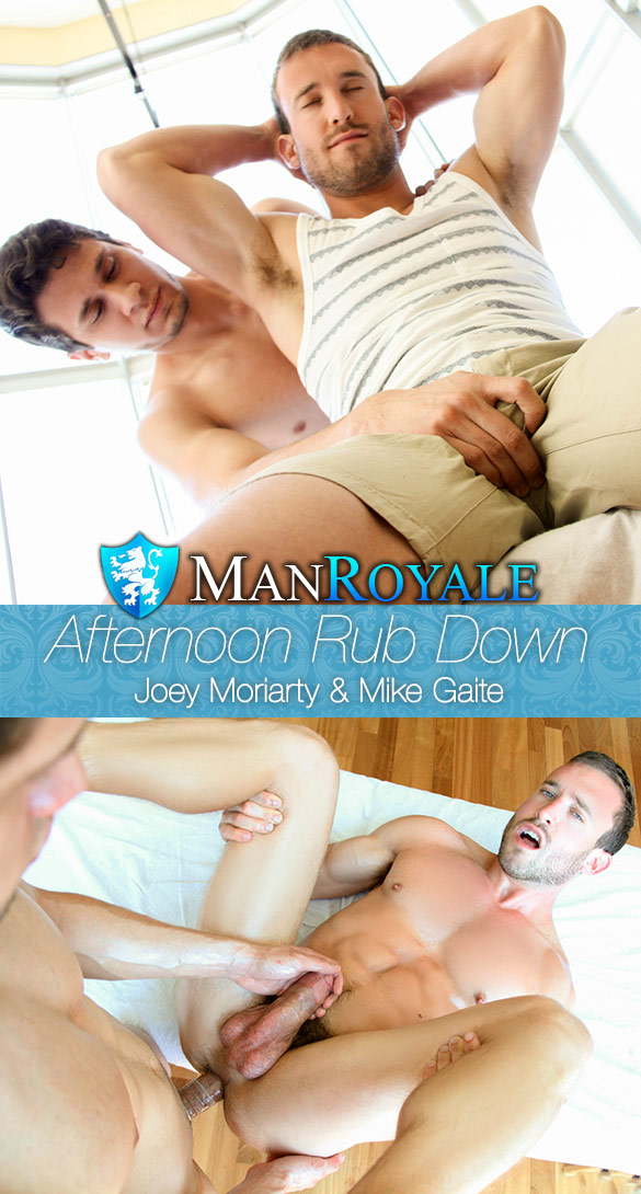 ManRoyale: Joey Moriarty fucks Mike Gaite