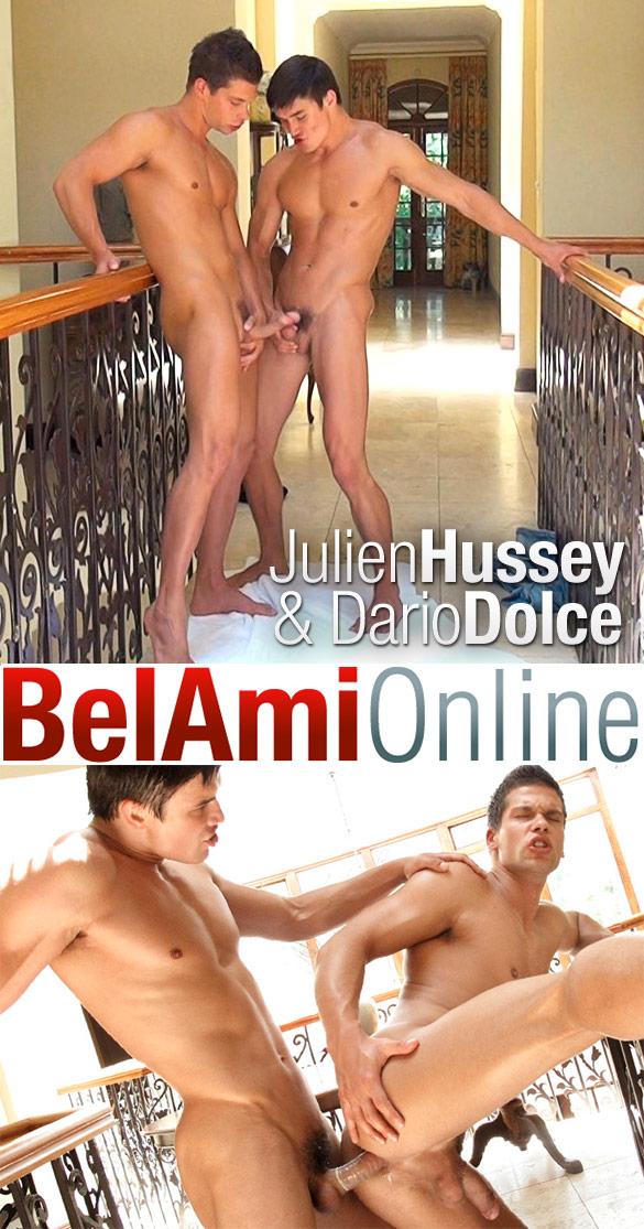 BelAmi: Dario Dolce fucks Julien Hussey