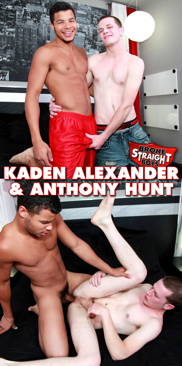 Broke Straight Boys: Kaden Alexander barebacks Anthony Hunt
