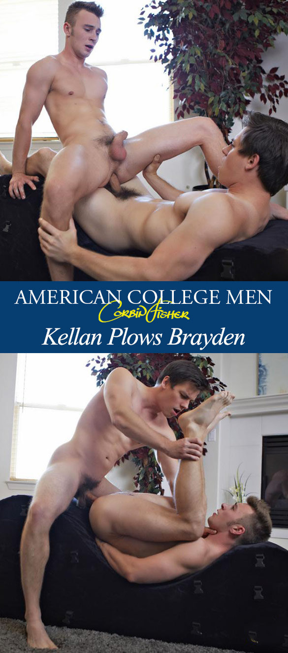 Corbin Fisher: Kellan plows Brayden raw