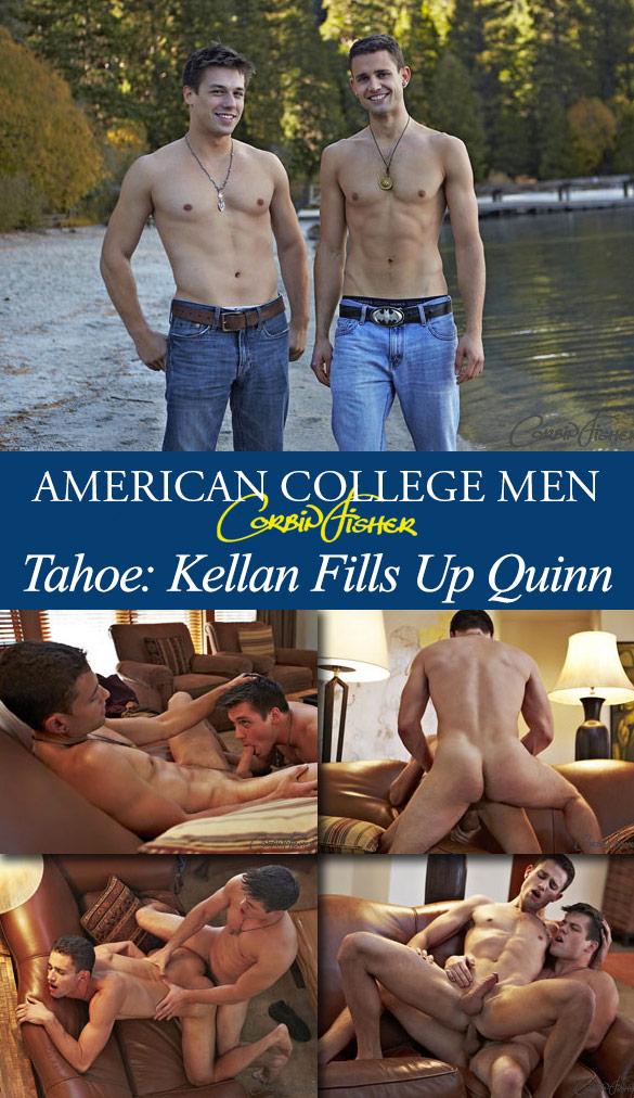 Corbin Fisher: Kellan creampies Quinn