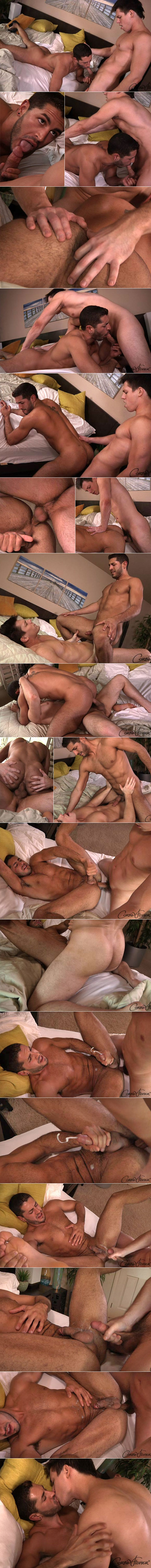 Corbin Fisher: Kellan barebacks Zack