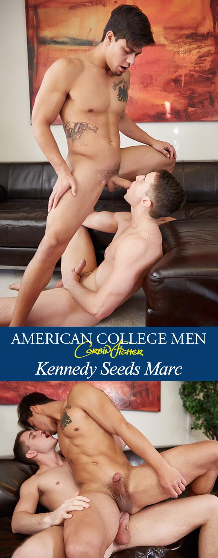 Corbin Fisher: Kennedy bangs Marc raw