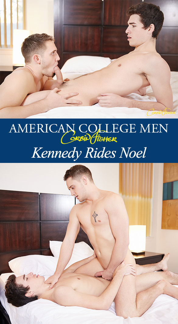 Corbin Fisher: Noel fucks Kennedy bareback