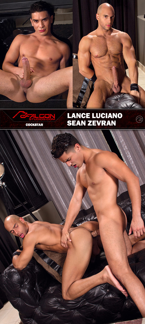 "Falcon Studios: Lance Luciano fucks Sean Zevran in ""Cockstar"""