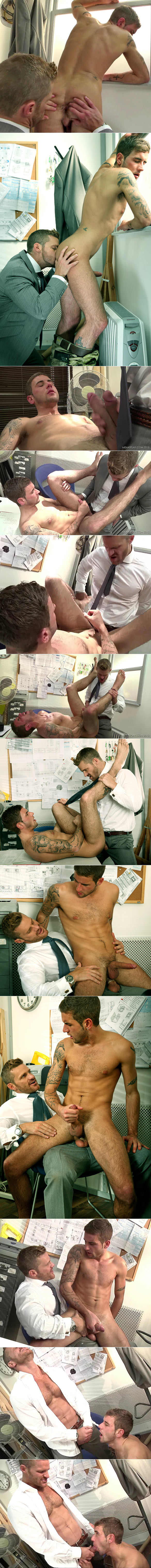 "MenAtPlay: Landon Conrad fucks Dan Broughton in ""On Site"""