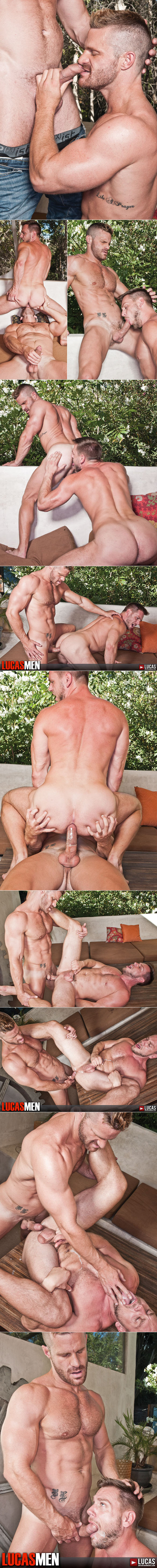 "Lucas Entertainment: Landon Conrad fucks Hans Berlin in ""Lucas Men"""