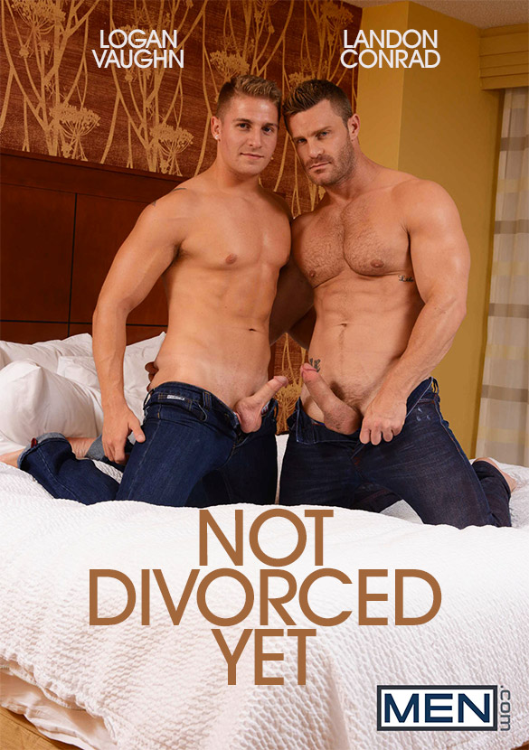 "Men.com: Landon Conrad and Logan Vaughn fuck each other in ""Not Divorced Yet"""