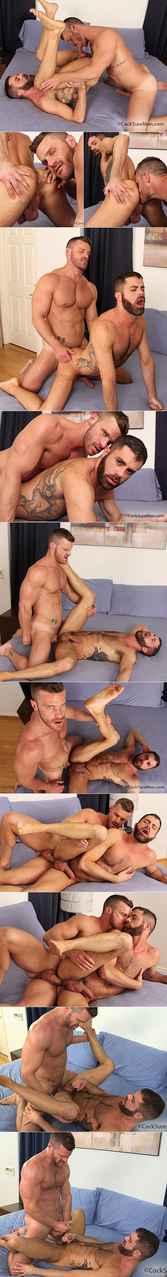 CocksureMen: Landon Conrad fucks Marcus Isaacs