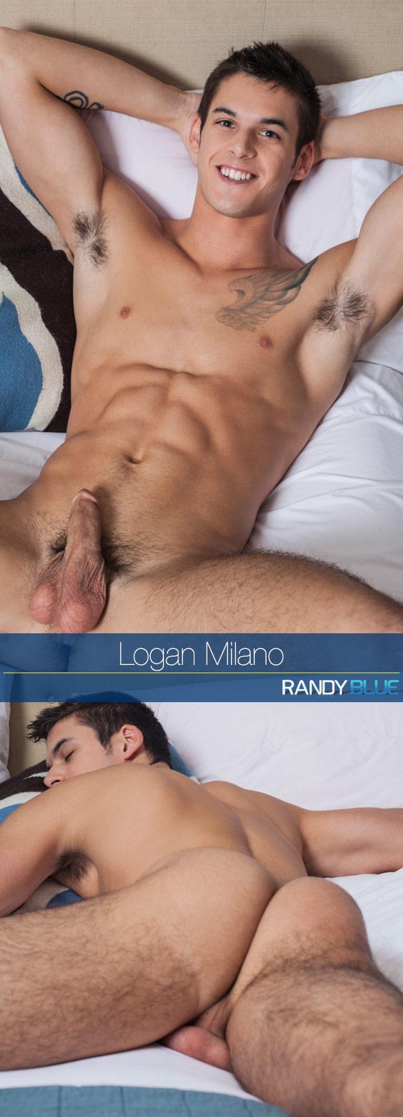 Randy Blue: Logan Milano rubs one out