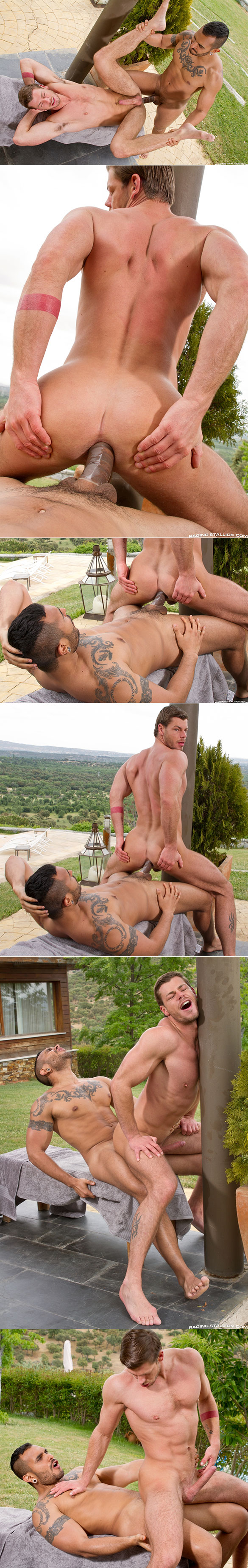"Raging Stallion: Toby Dutch rides Lucio Saints' thick cock in ""Gran Vista"""