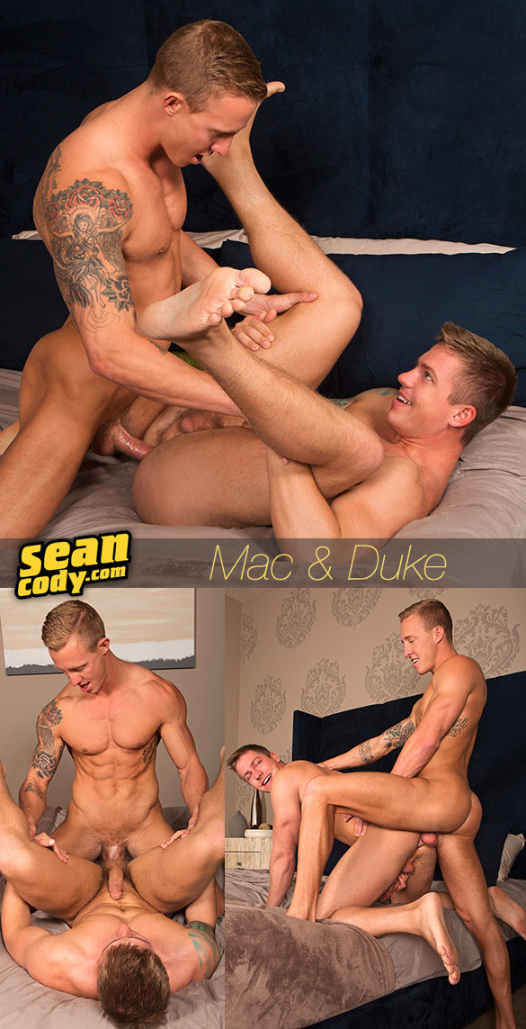 Sean Cody: Mac barebacks Duke