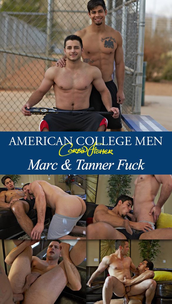Corbin Fisher: Marc barebacks Tanner