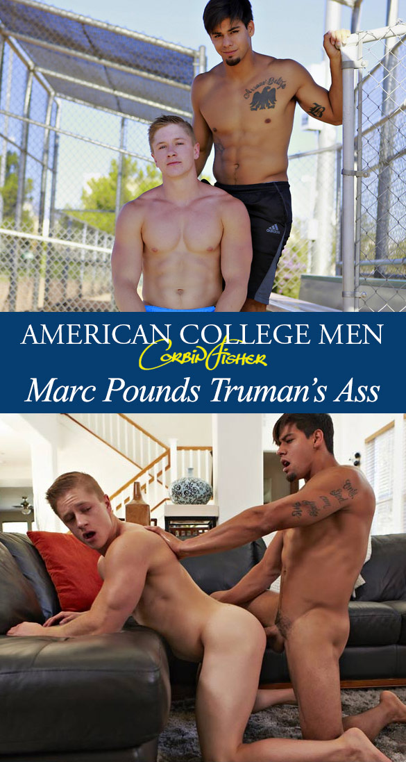 Corbin Fisher: Marc pounds Truman raw
